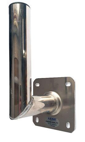 Uchwyt do anteny ścienny aluminiowy 15 cm solidny