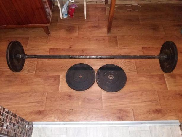 Спорт инвентарь (штанга и гантели)