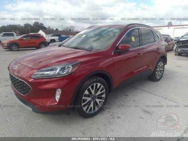 Ford Escape Titanium Hybrid 2020 Red 2.5L