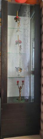 Witryna, szafka z szybą, venge