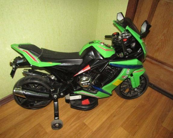 Электромотоцикл на 3-6 лет