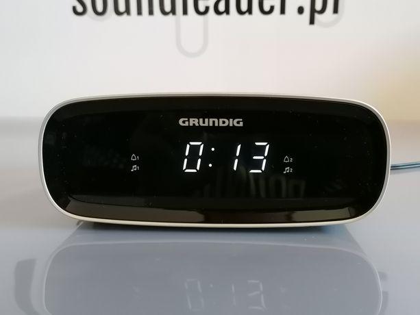 Radio budzik Grundig USB 2 alarmy