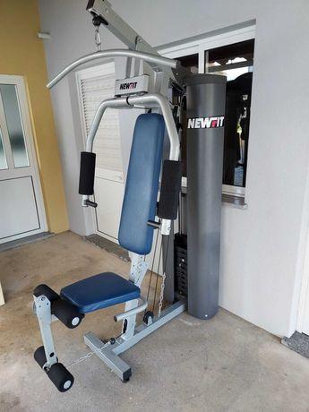 Máquina de musculação multifunções