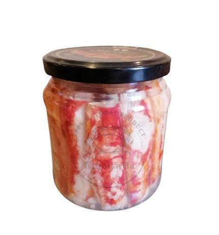 Краб камчатский консервированный первая фаланга (Крабовое мясо Краба)