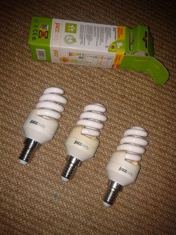 Энергосберегающая лампа jazzway (3шт) -Е14,2700К,9W