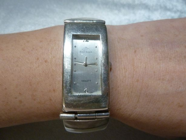 zegarek srebro