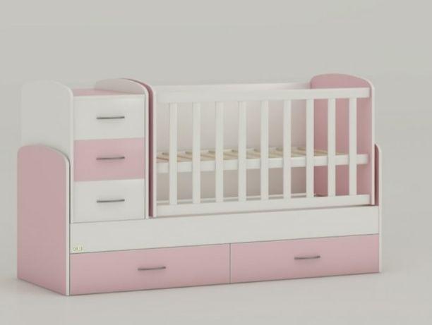 Кроватка-трансформер 4в1/детская кроватка