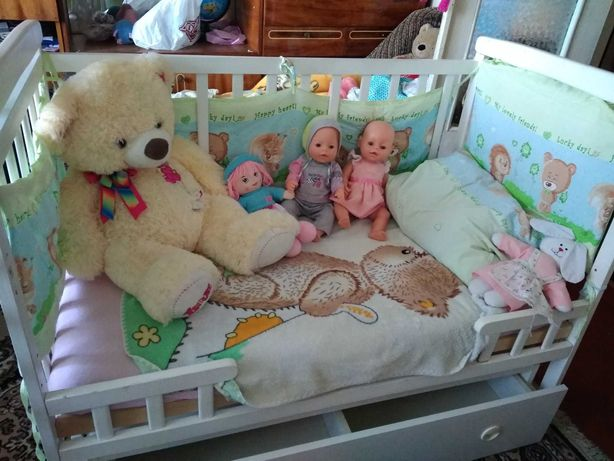 Дитяче ліжечко-трансформер