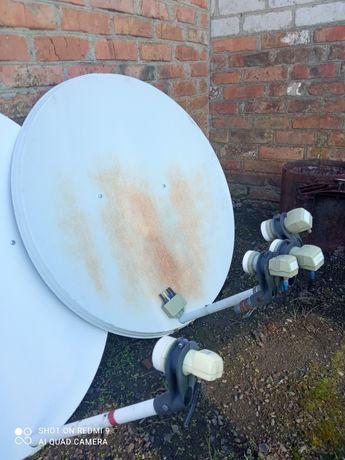 Спутниковая антенна две штуки