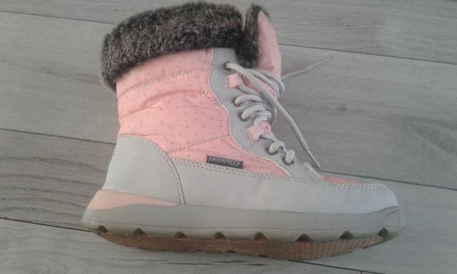 Śniegowce dziewczęce, buty zimowe