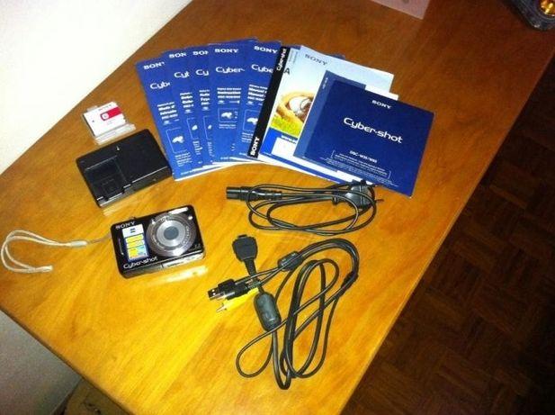 Máquina Fotográfica Sony DSC-W55 Preta+Bolsa Sony