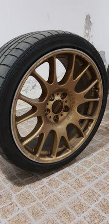 Jantes BBS originais pneus 1mês de uso