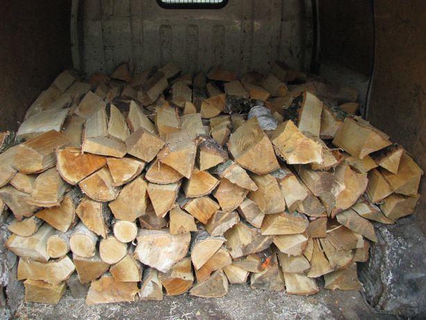 Drewno drzewo kominkowe opałowe - transport