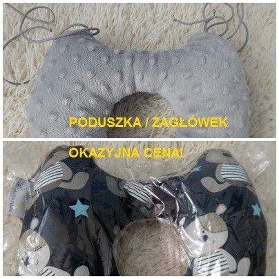 Zagłówek handmade najwyższej jakości bawełna minky Szczecin - image 1
