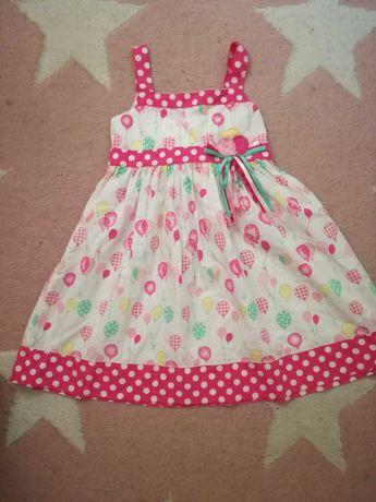 Śliczna sukienka r. 116
