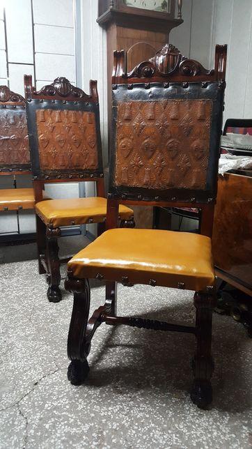Krzeslo neorenesansowe
