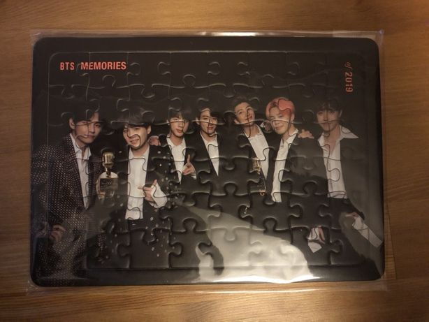 puzzle BTS KPOP Memories of 2019