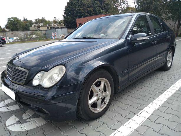 Mercedes-Benz C180 Kompressor W203, Benzyna, Sedan, rok 2003, zadbany!
