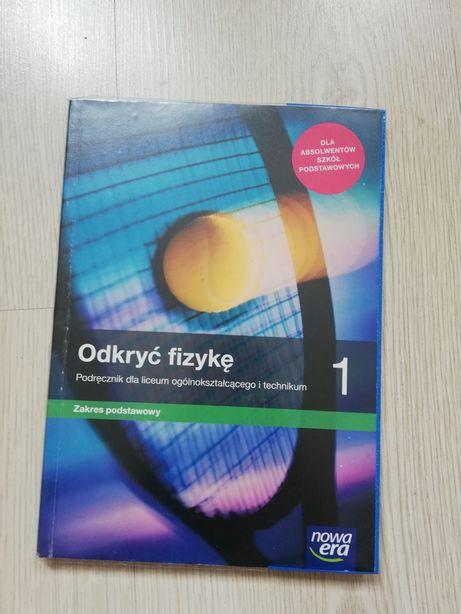 odkryć fizykę klasa 1 podręcznik do liceum technikum