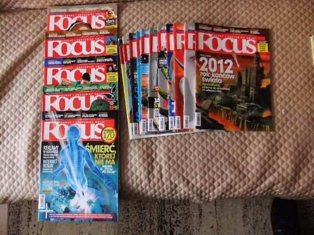 Focus - 48 numerów + płyty, książki, plakat i gratisy