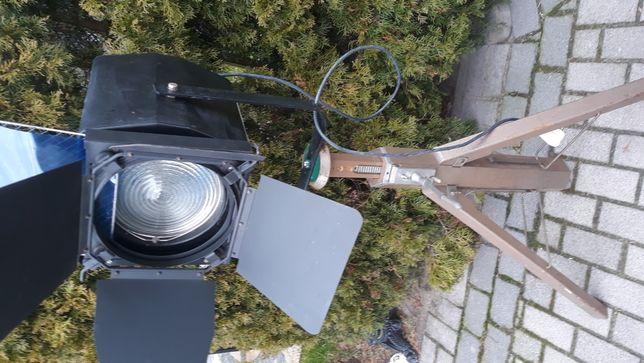 stary Reflektor teatralny lampa sceniczna