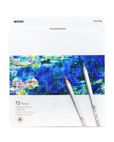 Карандаши цветные Marco Raffine 72 цвета (7100-72CB)