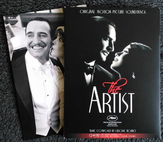CD + DVD muzyka z filmu - The Artist Artysta Ludovic Bource OSCAR NOWA