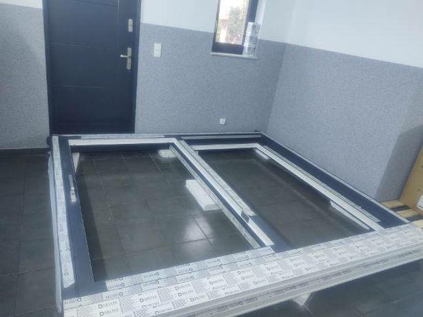 Okno  drzwi tarasowe balkonowe przesuwne HST HS drutex