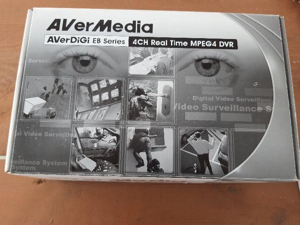 Sprzedam rejestrator do monitoringu analogowy 4 kanałowy