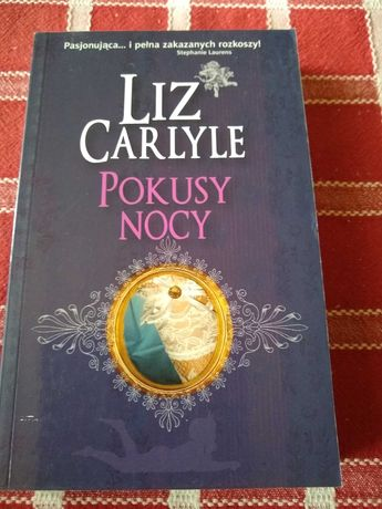 Książka romans- Liz Carlyle - Pokusy nocy
