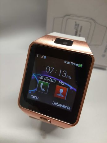 Smartwatch padgeNe bialy rose gold