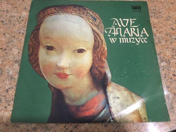 Płyta winylowa. Ave Maria w muzyce. Klasyka. Chór.
