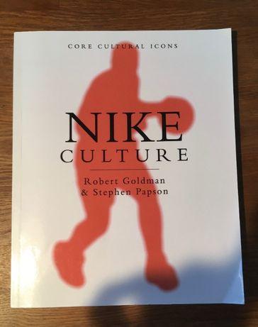 """Książka """"Nike Culture"""" R. Goldman & S. Papson ENG"""