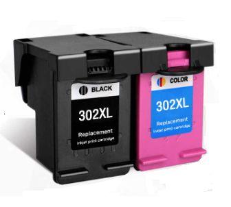 Pack 2 Tinteiros compativeis HP 302XL - Portes Grátis