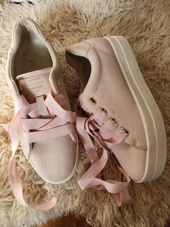 Sneakersy gant pink