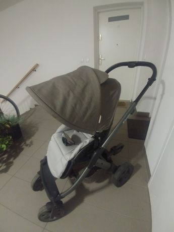 Wózek xlander xpulse spacerówka + podstawka