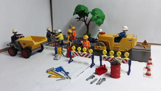 Playmobil roboty drogowe