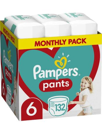 Подгузники-трусики Pampers Pants Размер 6 (15+ кг) 132 шт