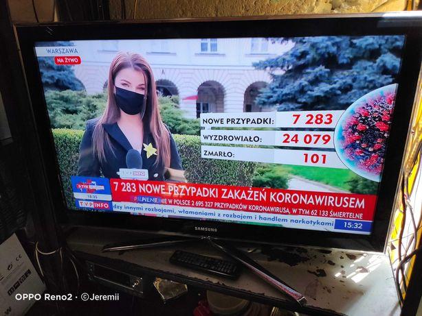 "SAMSUNG Ekstra Sprawny TV LED 3D 40"" Full HD DVBT Mpeg4 USB Pilot!"