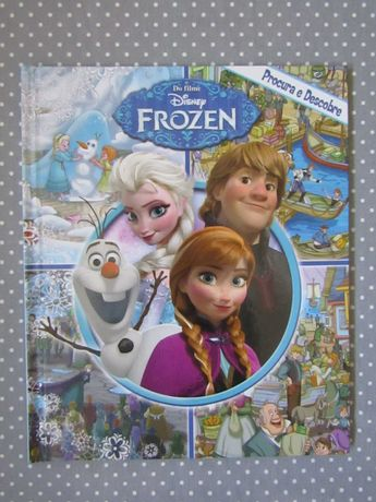Livro Frozen - Procura e Descobre Novo