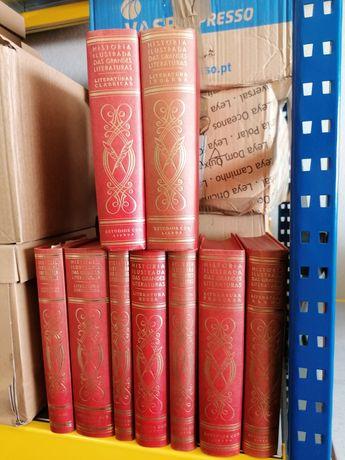 9 vols. História Ilustrada das Grandes Literaturas