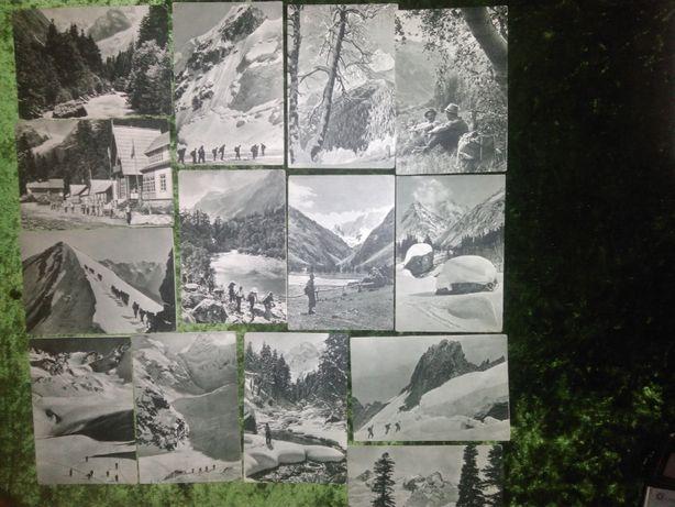 Открытки. ИЗОГИЗ. 1953 г. Центральный и Западный Кавказ. Руйкович В..