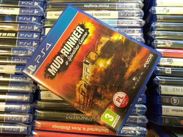Mud Runner PL PS4 --- możliwość zamiany SKLEP