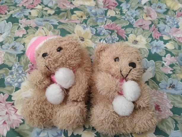 Мягкие тапочки - игрушки Мишки, teddy