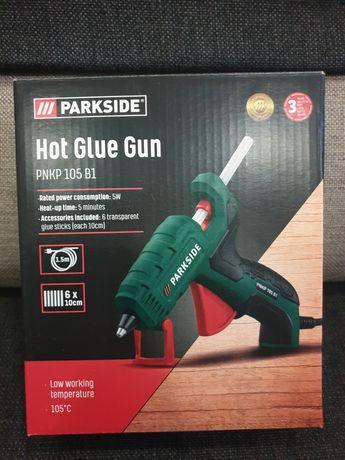 Pistolet do klejenia na gorąco Parkside