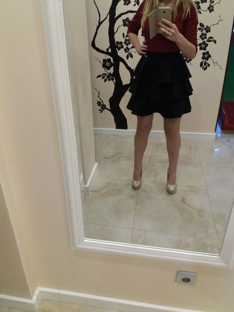 Sukienka, rozkloszowana
