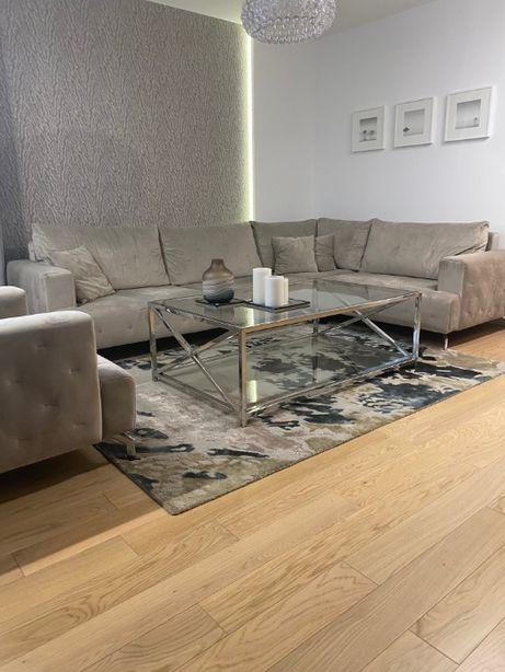 Kanapa (narożnik L + fotel) - Piękna i w idealnym stanie