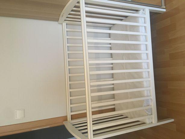 Kompaktowe łóżeczko z materacem 50cm/100cm
