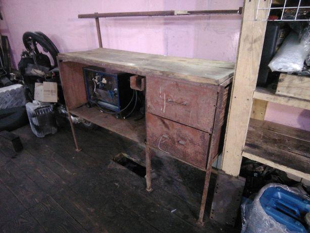Слюсарний стол металевий