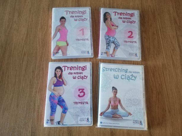 Zestaw treningów dla kobiet w ciąży DVD Angelika Pióro